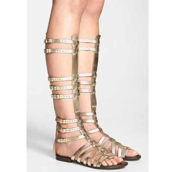14b76d77fed Steve Madden Sparta Gladiator Leather Sandals 9. M 5ac29c153b160842d72a40a4
